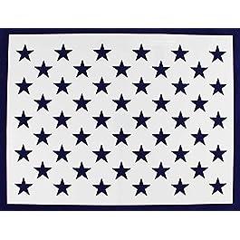 50 Star Field Stencil – US/American Flag – G-Spec 18 Inch H x 24.73 Inch L