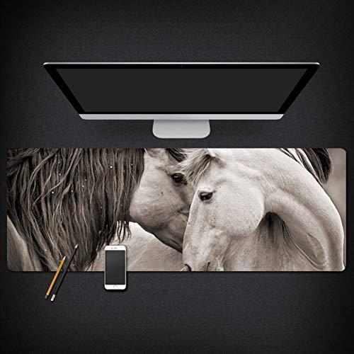 YUMUO Extra groot bureaublad, microvezel muis mat bureau beschermer waterdichte mat schrijven pad bureau mat voor kantoor en thuis
