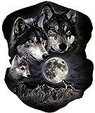 Loveternal Wolf Multifunktionstuch Kopftuch Nahtloses Halstuch...