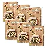 Turtle Cereales Granola orgánica sin gluten con nueces, quinua inflada y chocolate - 6 x 350 gramos