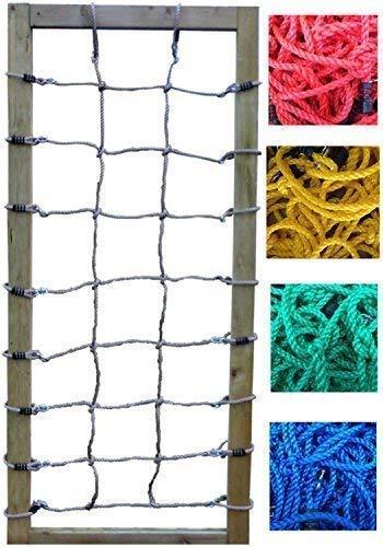 Loggyland Kletternetz 2m hoch, Verschiedene Breiten und Netzfarben zur Auswahl (Breite 75cm)