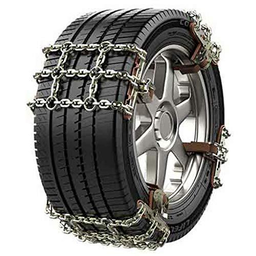 QCYP La Cadena de Nieve es Adecuada para Lexus CT IS ES GS LS NX GX RX RC UX NX Cadena de Emergencia de Nieve para neumáticos de automóvil, IS, 225 / 45R17