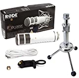Rode Podcaster Microfono USB + keepdrum ms055treppiede da...