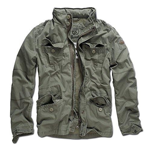 Brandit Jacke Britannia Oliv Größe 3XL