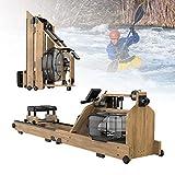 ZPCSAWA Remo de Agua, Máquinas de Remo, Ideal para Usar en Casa o Gimnasio, Equipo de Ejercicios de Entrenamiento Abdominal para Adelgazar y Desarrollar Músculos en Interiores