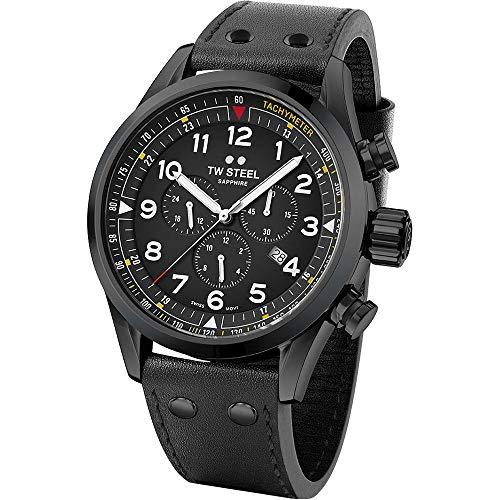 TW Steel Swiss Volante SVS205 chronograaf horloge 48mm