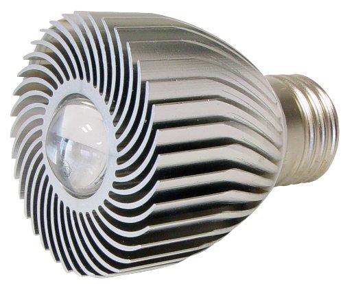 Transmedia LP3-1FL Power Spot LED 230 V 1 W E27 Blanc Chaud