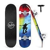 BELEEV Skateboards for Beginners, 31'x8' Complete Skateboard for Kids...