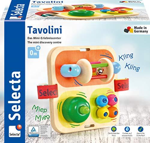 Selecta 62014 Tavolini, Motorikspielzeug aus Holz, 14 cm