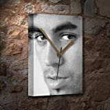 ENRIQUE IGLESIAS - Canvas Clock (A5 - Signed by the Artist)