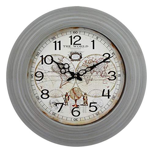 Garden Outdoor Clock Weatherproof, 16 inch Wall Clock ...