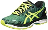 Asics Gel Nimbus 18 - Zapatillas de Running, Unisex, Verde (Pine/Flash Yellow/Black), 39
