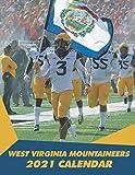 West Virginia Mountaineers 2021 Calendar