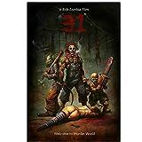 ad Nuevo A Rob Zombie FilmHorror Movie Wall Sticker Poster Art Light Canvas Decoración del hogar Impresión en Lienzo-50x70cm Sin Marco