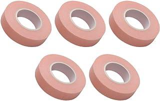 FRCOLOR 5 Rollen Wimper Tape Ademende Stof Wimper Extension Tape Diy Lijm Wimper Enten Wrap Valse Wimper Patch Tape Makeup...