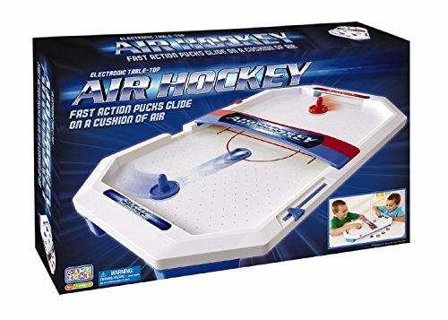 International Playthings Game Zone - Electronic Table-Top Air Hockey - Fast-Paced Sports Fun in an Easily Portable Battery-Operated Rink...