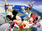 JIUH 1000 Piece Jigsaw Puzzles, Jigsaw Puzzles 1000 Pieces for Adults,Extreme Sports-Mickey...