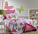 Greenland Home 2 Piece Woodland Girl Quilt Set, Twin