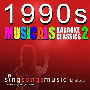 1990s Musicals - Karaoke Classics Volume 2