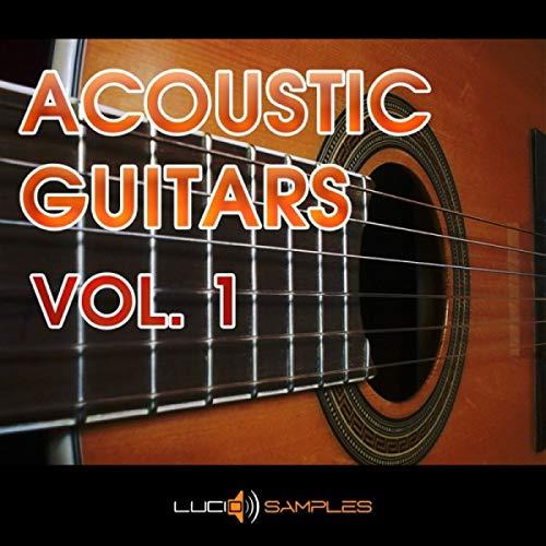 GUITAR Music Production Acoustic Guitars Vol. 1 - 128 Akustische Gitarrenmusikstücke| DVD non BOX