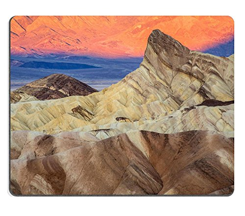 luxlady Caucho Natural Gaming Mousepads Zabriskie Point Sunrise imagen ID 25372249