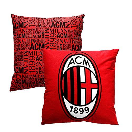 Milan Cuscino Arredo, Poliestere/Cotone, Rosso