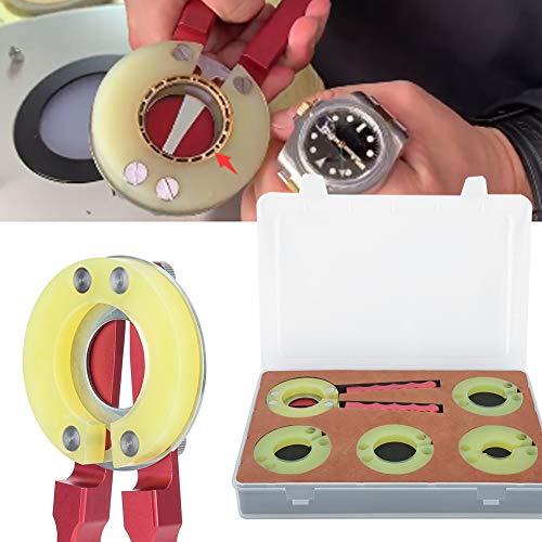 Bezel Ring voor polshorloge, voor het verwijderen van horloges, glas 4 Sizes
