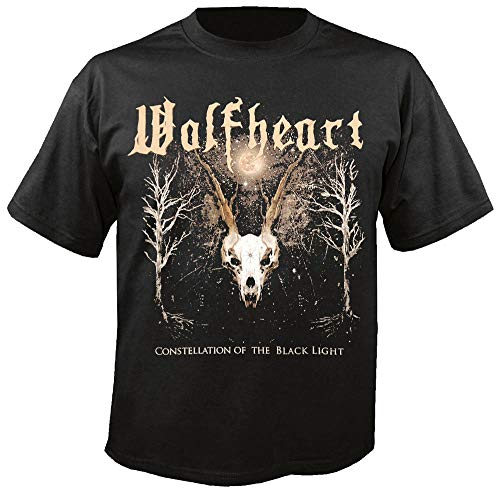 WOLFHEART - Constellation of The Black Light - T-Shirt Größe L