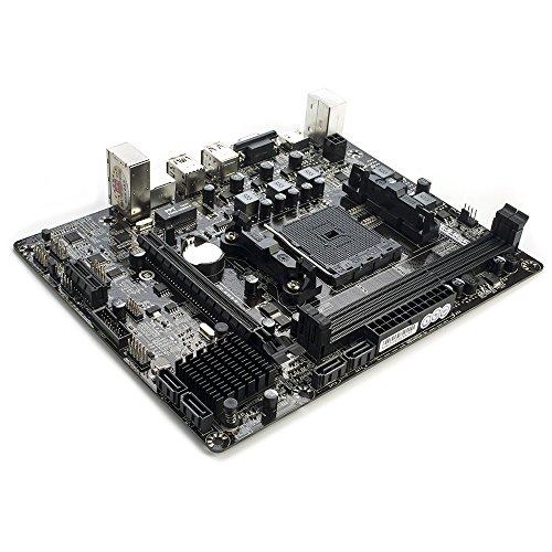 Docooler Colorful C.A68M-E Plus V15 moederbord AMD A68H SATA 6 Gb/s USB 3.0 DDR3 FM2 / FM2 + sokkel voor mATX desktop computer