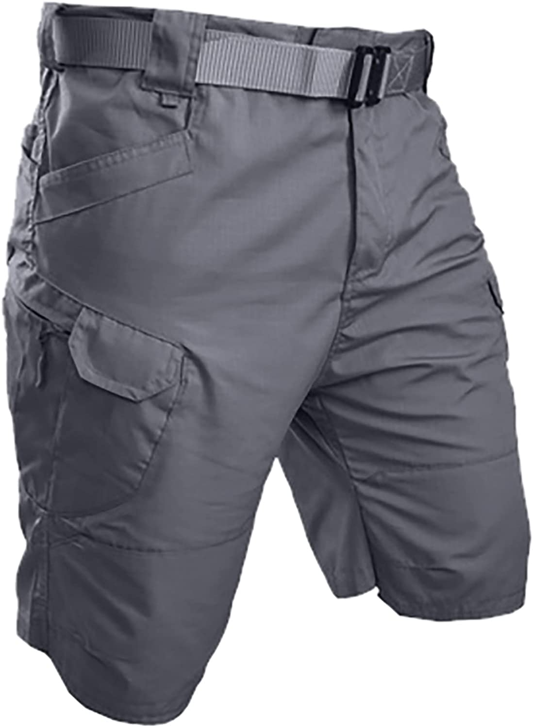 Men's Tactical Shorts Outdoor Lightweight Quick Dry Cargo Shorts Summer Hiking Casual Pants with Multi Pockets - Limsea