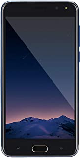 Unlocked 5.0 inch Dual Sim Smartphone - Android IPS Full Screen 4GB Touch Screen WiFi Bluetooth GPS 3G Call Mobile Phone (Blue)