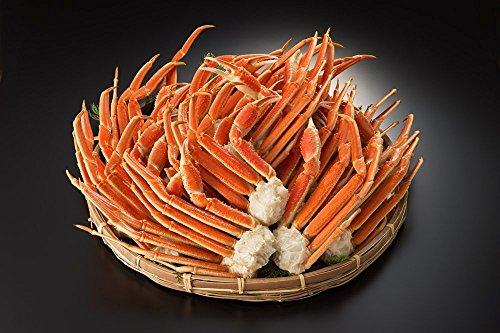 ボイル ズワイガニ 5kg 3Lサイズ 脚 本ずわい 蟹 食べ放題 業務用 通販 かに鍋 送料無料
