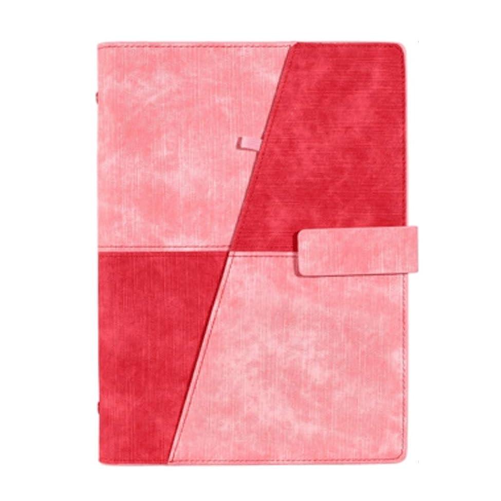 優越ゆるくリングノート Creative Journal Diaryインストールされたメモ帳ビジネスブックスクールA5プランナーオーガナイザーオフィス メモ帳 (Color : Red)