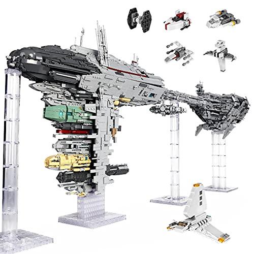 XJJY Conjunto de Edificios para la fragata médica Nebulon-B, Modelo de Nave Espacial de Ciencia ficción Grande, 6388 Piezas de Bloques de construcción Modelo Compatible con Lego Star Wars