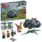 LEGO 75940 Jurassic World Fuga del Gallimimus y el Pteranodon, Juguete de Construcción