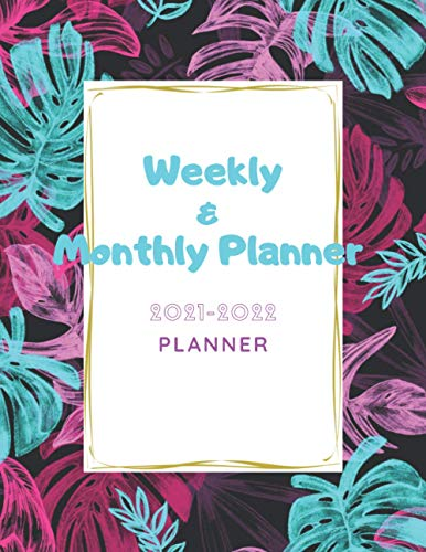 Weekly & Monthly Planner 2020-2021: Training Meeting Day Studies and Degrees for Women Men Teens Students best friends, Planner 2020-2021 Academic ... new year Joyeux Noël Fröhliche Weihnachten