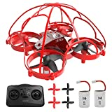ATOYX AT-66D Drone Enfant Hélicoptère Télécommandé avec Mode sans Tête Mini Drone avec...
