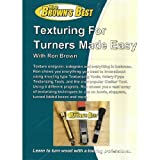 Texturing for Turners (Woodturning with Ron Brown) DVD