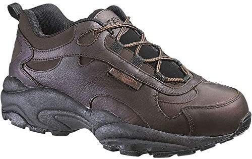 Hytest 10071 Unisex Conductive Brown Safety Oxford Shoes