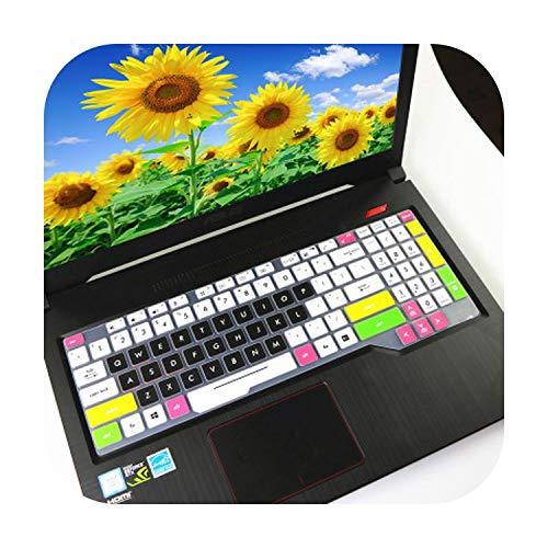 Protector de Piel para Teclado de Ordenador portátil de 15 6 Pulgadas For ASUS TUF Gaming FX505 fx505ge FX505G FX 505 GD DT GM FX505GM FX505GD fx505DT-Color 2-