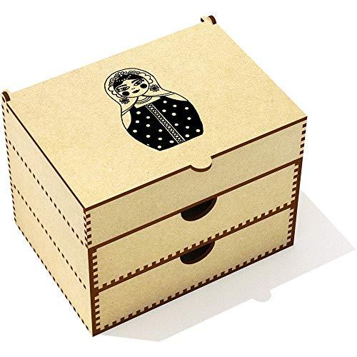 Azeeda 'Russische Matryoshka Puppe' Kosmetikkoffer (VC00011899)