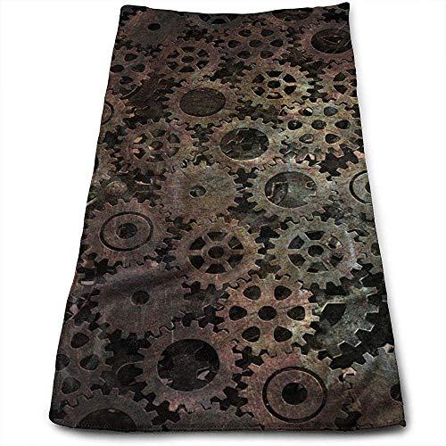 Bert-Collins Towel Modèle de Texture Fond Abstrait Industrie Personnalité Amusant Modèle Serviettes De Toilette Fibre Superfine Super Absorbant Serviettes Douces pour Le Gym