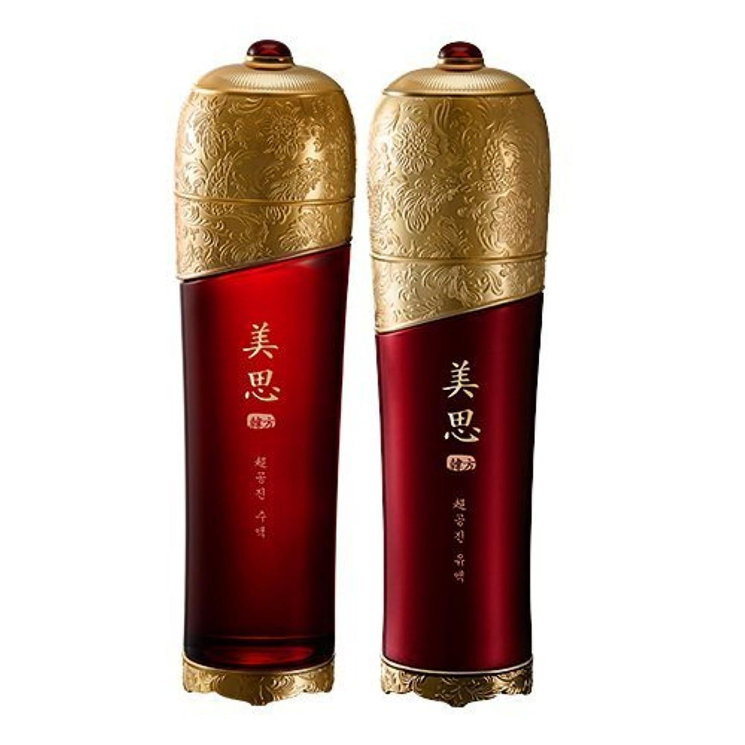叱る惑星殺人MISSHA(ミシャ) 美思 韓方 チョゴンジン 基礎化粧品 スキンケア 化粧水+乳液=お得2種Set