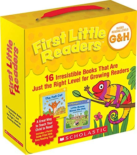 First Little Readers Guided Reading Levels G H Parent Pack 16 Irresistible Books That Are Just product image