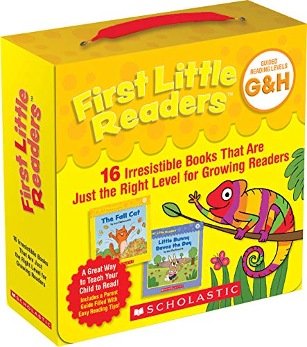 Compare Textbook Prices for First Little Readers: Guided Reading Levels G & H Parent Pack: 16 Irresistible Books That Are Just the Right Level for Growing Readers  ISBN 9781338615524 by Charlesworth, Liza