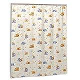 Cartoons Winnie The Pooh Duschvorhänge Badezimmer Badvorhang 60 x 72 in Dekor Polyester wasserdichter Stoff / mit 12 Kunststoffhaken