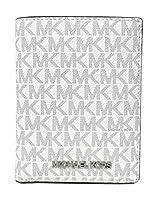 Michael Kors ジェットセット トラベル シグネチャー ミディアム パスポートケース ウォレット アルミニウム