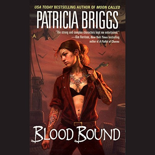 Page de couverture de Blood Bound: Mercy Thompson, Book 2