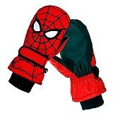 Spider-Man Baby Cartoon Junge Baby Winter warm Ski Kinder Handschuhe Herbst Winter Studenten Spielen Schnee wasserdichte Baumwolle S(7CM) Spider-Man