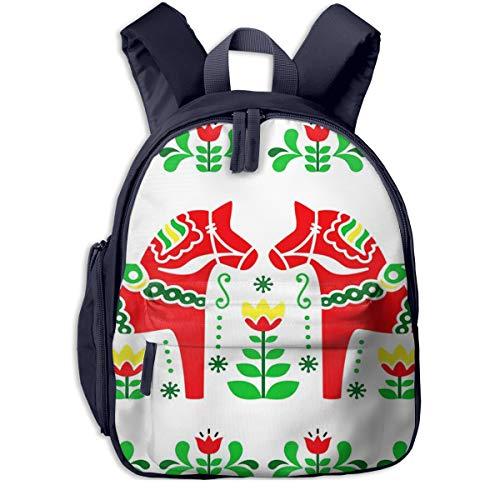 Kinderrucksack Kleinkind Jungen Mädchen Kindergartentasche Schwedisch 846 Backpack Schultasche Rucksack